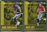 2019 Panini Illusions GOLD Base & RC Parallels /299 Complete Your Set - You Pick