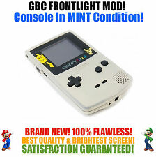 Nintendo Game Boy Color GBC Frontlight Front Light Frontlit Mod Pokemon MINT NEW