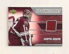 2006-07 Upper Deck Series 1 Game Jersey Phoenix Coyotes #J-CJ Curtis Joseph