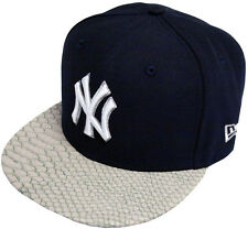 New Era New York Yankees Rettile Vizor Strapback Cappello 9fifty
