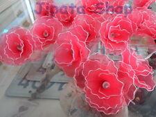 BloomingRedRose Flower Nylon Party-Wedding-Decoration Christmas 110V LightString