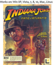 Indiana Jones and the Fate of Atlantis PC Mac Linux Game