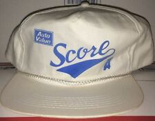 Auto VALUE Store parts Car truck SCORE logo IN 94 Hat VTG Mobile Motive Advance