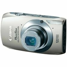 Canon PowerShot ELPH 500 HS 12.1 MP CMOS Digital Camera HD Video~SILVER~Nr Mint~