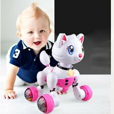 Interactive Cat Voice Recognition Electronic Robot Toy Cat Dancing Pet for Kid