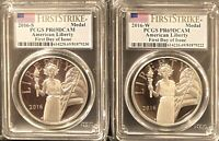 2016 S & W AMERICAN LIBERTY SILVER MEDAL   PCGS PR69DCAM**FIRST DAY**POP 15 & 17