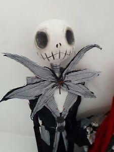 Ooak handmade Sally & Jack Skellington gothic paper clay art dolls Spookybutcute