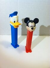 Vintage Pez Dispensers Mickey Mouse Donald Duck