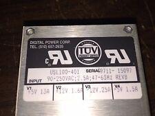 Digital Power Corp Multi output Power Supply Part# 100-401, +5V, +12V, -12V, -5V