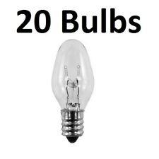 20 Pack Light Bulbs 15W for Scentsy Plug-In Warmer Wax Diffuser 15 Watt 120 Volt