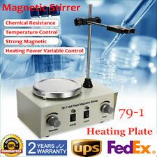 Magnetic Stirrer Hotplate Mixer Heater Lab Digital Bar 0 2400rmin 1000ml 150w