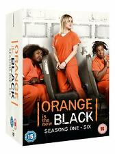 ORANGE IS THE NEW BLACK COMPLETE SEASON 1-6 COLLECTION DVD BOX SET 24 DISC NEW