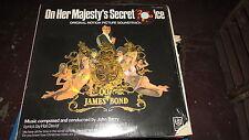 HER MAJESTY'S SECRET SERVICE JAMES BOND SOUNDTRACK LP JOHN BARRY CORNER CUT