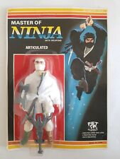 Rare Master Of Ninja Acticulated Action Figure - Like Knock Off Remco moc FET 2