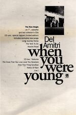 """16/1/93PGN11 DEL AMITRI : WHEN WE WERE YOUNG SINGLE ADVERT 7X10"""""""