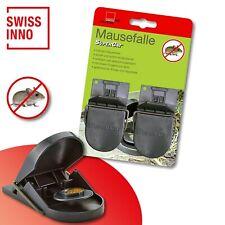 1 x 2 Stück Swissinno SuperCat Mausefalle Schlagfalle