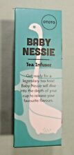 Baby Nessie Tea Infuser Loose Leaves Turquoise Drinking Gift Ototo Desing