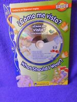 What Should I Wear? Spanish=English Reader Beginner Book and CD Flip