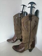 biondini UK 5 Cowboy Boots western style dancing festival cowgirl leather