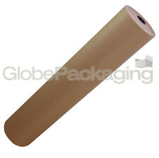 600mm x 10M Roll Of Brown Kraft Wrapping Paper 88gsm