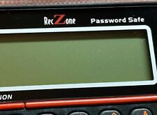 Password Safe Model 595 RecZone Protect Identity up to 400 Accounts