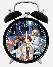 "Lego Star Wars Alarm Desk Clock 3.75"" Room Office Decor W10 Will Be a Nice Gift"