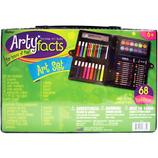 Drawing Art Set for Kids Crafts Kit Children Gift Darice 68 painting Piece xmas