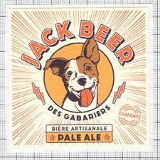 France Micro,Des Gabariers,Cognac Jack Jack Russell Terrier beer label C1945 026