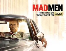 Mad Men Season 7 TV Poster (24x36) - Jon Hamm, Don Draper - Final Season v2 NEW