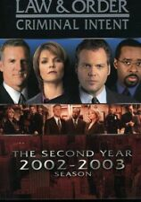 Law & Order - Criminal Intent: The Second Year [New DVD] Full Frame, Slim Pack