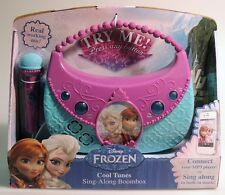 ESM692. DISNEY FROZEN: Cool Tunes Sing-Along Boombox with built-in music (2014)