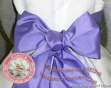 "2.7""x109"" satin sash belt ribbon for WEDDING bridesmaid flower girl fancy dress"