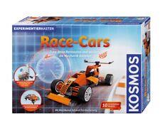 Kosmos Experimentierkasten Race-Cars | Modellbaukasten für Kinder ab 8 Jahre