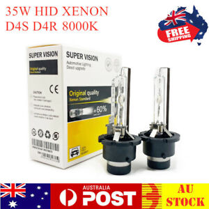 D4S Globes Xenon HID Headlight 8000K Bulbs For Toyota Camry Corolla Prius RAV4