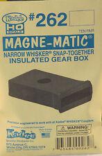 Kadee HO Scale Insulated Gear Box W/ Lid 10Pr NEW 262