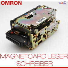 OMRON 3S4YR-MVFW1 JD MAGNETCARD WRITER LESER SCHREIBER RS-232 KABEL POWER SUPPLY