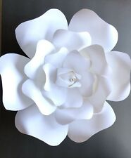 Rose Paper Flower Template #1 (T1)(Extra-large) - Diy