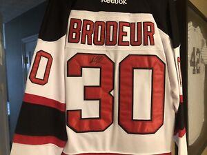 Martin Brodeur Signed Devils Jersey