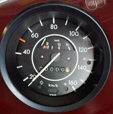 VW Käfer 1303 Tacho komplett überholt mit 100 Meterzähler und neuer Nadelform