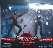 Marvel Legends Spider-Man Into The Spider-verse 2 pack Miles Morales/Spider-Gwen