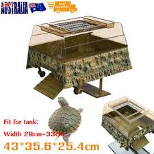Aquarium Tank Turtle Reptile Basking Terrace Island Platform House Dock