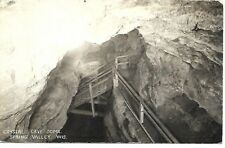 RPPC  Crystal Cave Dome Spring Valley Wisconsin 1945