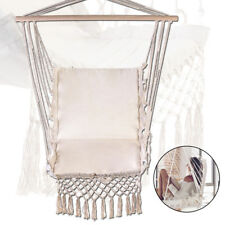 Hammock Hanging Rope Chair Porch Swing Seat Air Swing Garden Outdoor 150KG