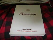 1988 Cadillac Cimarron Service Repair Manual