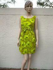 VINTAGE ALFRED SHAHEEN 60's / 70's COTTON HAWAIIAN FLORAL DRESS SZ 4