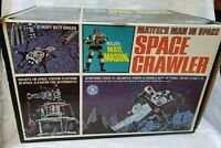 MATTEL'S MAN IN SPACE CRAWLER ELECTRONIC VEHICLE CANADA TOY BOX AND INSTRUCTIONS