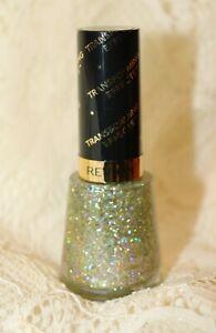 Revlon Transforming Effects Nail Enamel #735 Golden Confetti NEW Full Size
