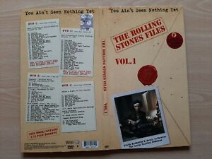 THE ROLLING STONES – ''FILES / YOU AIN'T SEEN NOTHING YET / VOL. 1'' - 4 DVD