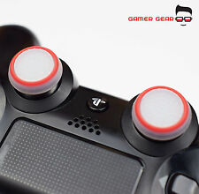 2 x Rubber Thumb Stick Cover Grip PS3 PS4 XBOX One Analog Controller -W&R Stripe