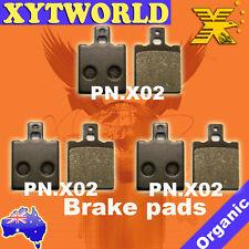 FRONT REAR Brake Pads MOTO GUZZI 650 NTX 650 1987 1988 1989 1990